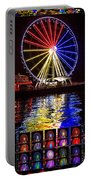 Great Wheel Poster Portable Battery Charger