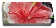 Happy Hibiscus Portable Battery Charger