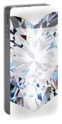 Heart Diamond  Portable Battery Charger