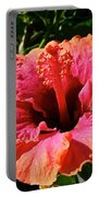 Hibiscus Blossom Portable Battery Charger