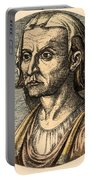 Hippocrates, Greek Physician Portable Battery Charger