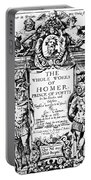 Homer Title Page, 1616 Portable Battery Charger