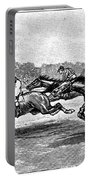 Horse Racing, 1900 Portable Battery Charger