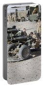 Howitzer 105mm Light Guns Are Lined Portable Battery Charger