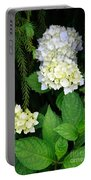 Hydrangea Blooming Portable Battery Charger