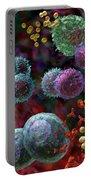 Immune Response Antibody 4 Portable Battery Charger