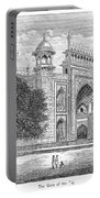 India: Taj Mahal Portable Battery Charger