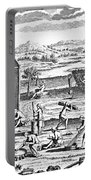 Iroquois Village, 1664 Portable Battery Charger