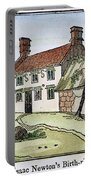 Isaac Newton Birthplace Portable Battery Charger