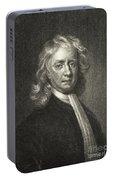 Isaac Newton, English Polymath Portable Battery Charger