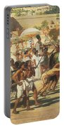 Israel In Egypt Portable Battery Charger by Sir Edward John Poynter