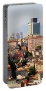 Istanbul Cityscape Portable Battery Charger