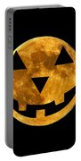 Jack-o-lantern Moon Portable Battery Charger