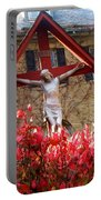 Jesus' Flowers Portable Battery Charger