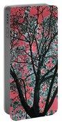 Kimono Pink Portable Battery Charger