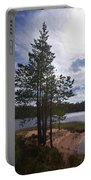 Lake Huosius At Hossa Portable Battery Charger