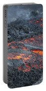 Lava Flow On The Flank Of Pacaya Portable Battery Charger
