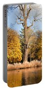 Lazienki Park Autumn Scenery Portable Battery Charger