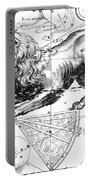 Leo, The Hevelius Firmamentum, 1690 Portable Battery Charger by Science Source