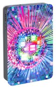 Lighting Effects And Graphic Design Portable Battery Charger