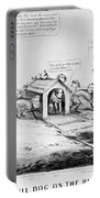 Lincoln: Cartoon, 1864 Portable Battery Charger