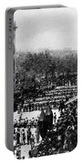 Lincolns Funeral Procession, 1865 Portable Battery Charger by Photo Researchers