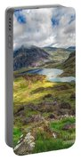Llyn Idwal Lake Portable Battery Charger by Adrian Evans