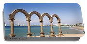 Los Arcos Amphitheater In Puerto Vallarta Portable Battery Charger