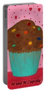 M And M Cupcake Portable Battery Charger