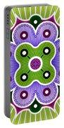 Mandala Of Abundance Portable Battery Charger