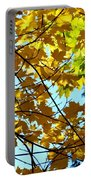 Maple Leaf Canopy Portable Battery Charger