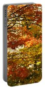 Maple Tree Foliage Portable Battery Charger