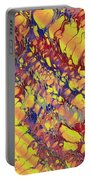 Marbled Paper Portable Battery Charger
