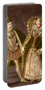 Mary, Queen Of Scots Portable Battery Charger