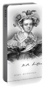 Mary Russell Mitford Portable Battery Charger