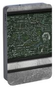 Maths Formula On Chalkboard Portable Battery Charger