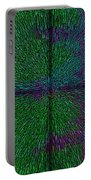 Matrix Abstract Portable Battery Charger