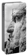 Men Working On Mt. Rushmore Portable Battery Charger