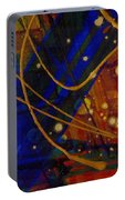 Mickey's Triptych - Cosmos I Portable Battery Charger