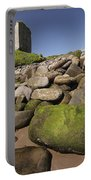 Minard Castle And Rocky Beach Minard Portable Battery Charger