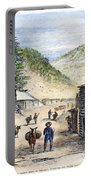 Mining Camp, 1860 Portable Battery Charger