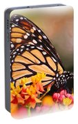 Monarch And Milkweed Portable Battery Charger