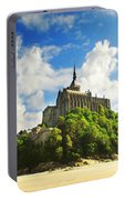 Mont Saint Michel Portable Battery Charger