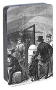 New York: Poverty, 1868 Portable Battery Charger