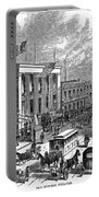 New York: The Bowery, 1871 Portable Battery Charger