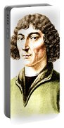 Nicolaus Copernicus, Polish Astronomer Portable Battery Charger