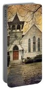 Old Church Portable Battery Charger by Jill Battaglia