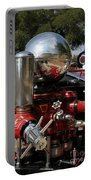 Old Fire Truck Portable Battery Charger