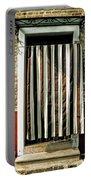 Old Italian Door Portable Battery Charger by Joana Kruse