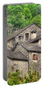 Old Rustic Village Portable Battery Charger